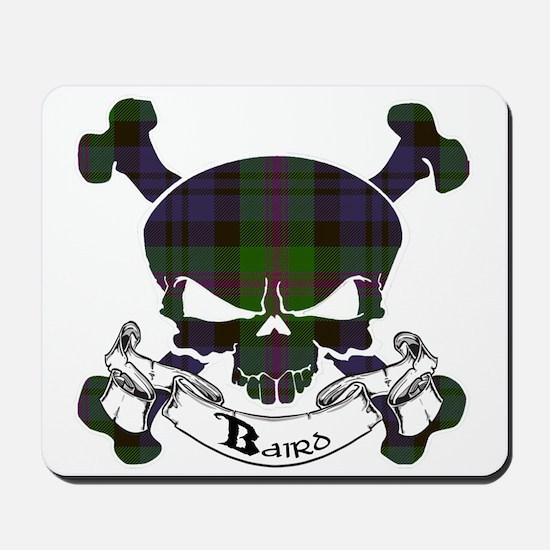 Baird Tartan Skull Mousepad