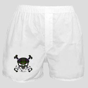 Baird Tartan Skull Boxer Shorts