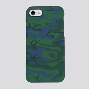 Twilight Green Camo iPhone 7 Tough Case