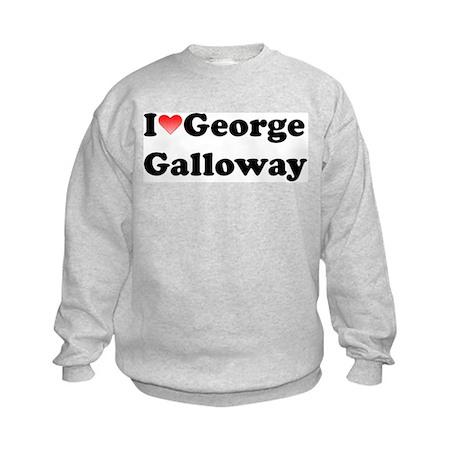 I Love Galloway Kids Sweatshirt