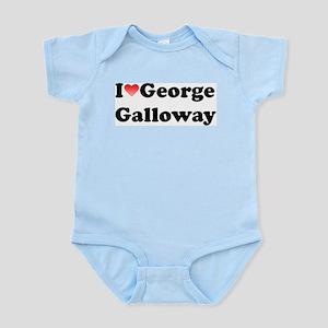 I Love Galloway Infant Creeper