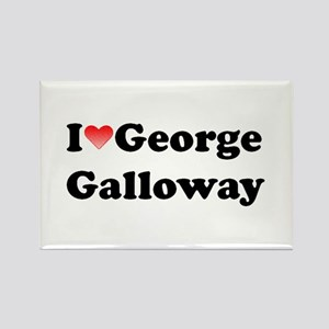 I Love George Galloway Rectangle Magnet