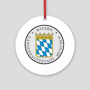 Munich / Munchen Ornament (Round)