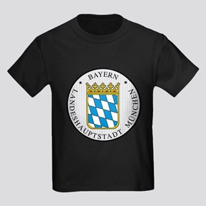 Munich / Munchen Kids Dark T-Shirt