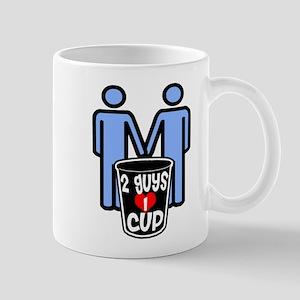 2 Guys 1 Cup Mug