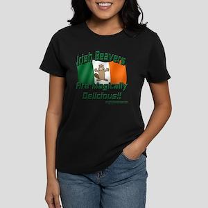Irish Beavers Are Magically Women's Dark T-Shirt