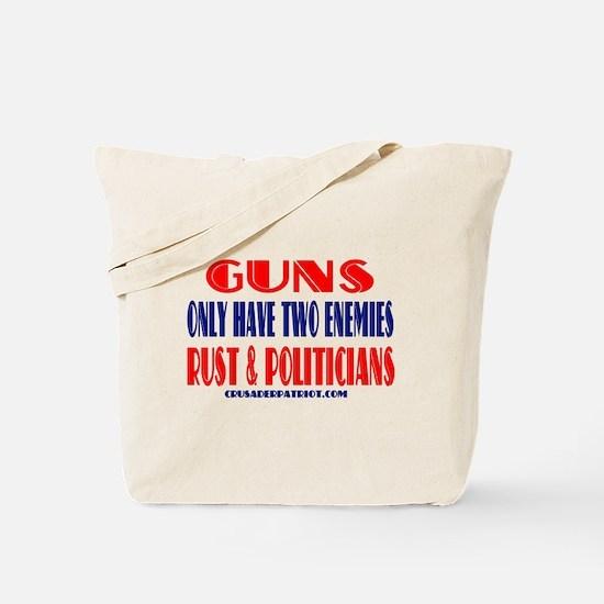 Unique The history of gun control Tote Bag