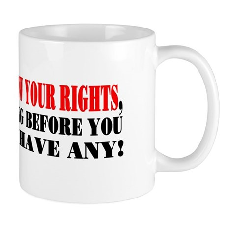 KNOW YOUR RIGHTS! Mug