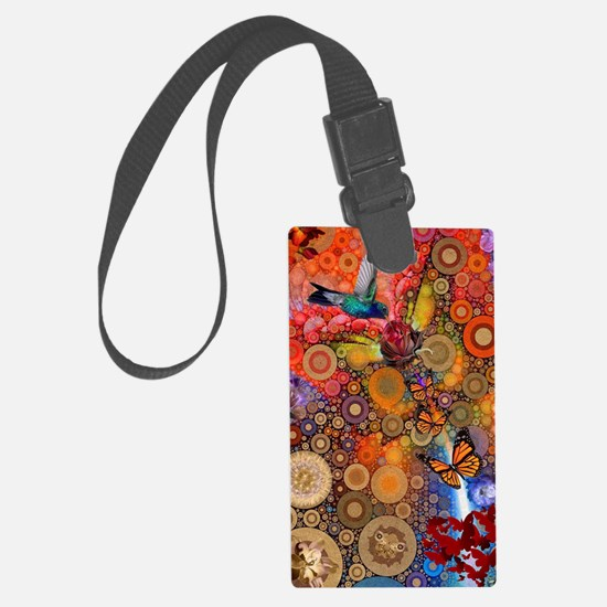 Cute Happiness Luggage Tag