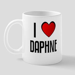 I LOVE DAPHNE Mug