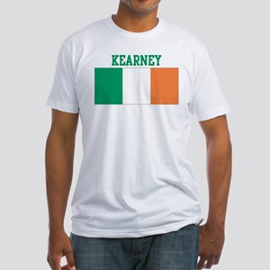 Kearney (ireland flag) Fitted T-Shirt