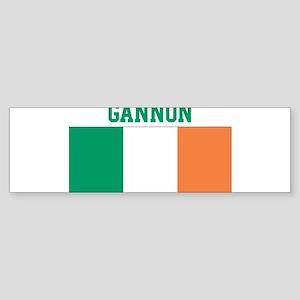 Gannon (ireland flag) Bumper Sticker