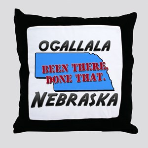 ogallala nebraska - been there, done that Throw Pi