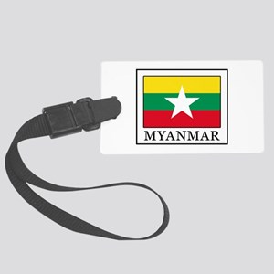 Myanmar Large Luggage Tag