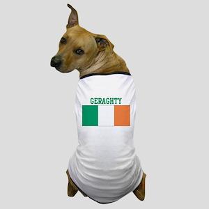 Geraghty (ireland flag) Dog T-Shirt