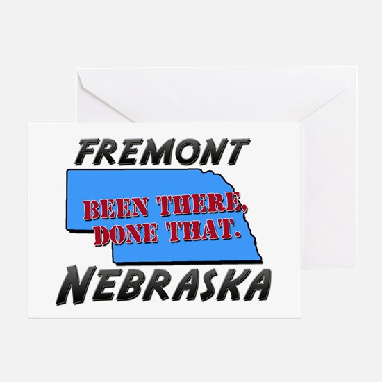 fremont nebraska - been there, done that Greeting