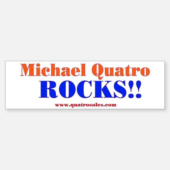 Quatro Rocks Bumper Bumper Bumper Sticker