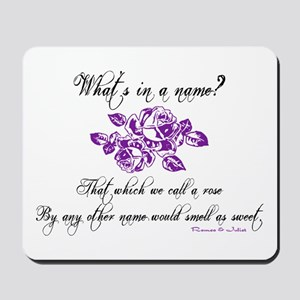 What's in a Name Mousepad