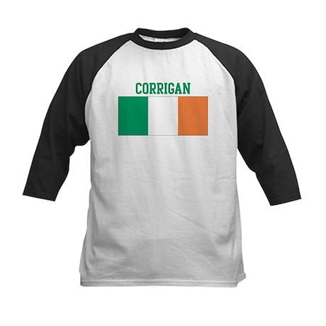 Corrigan (ireland flag) Kids Baseball Jersey