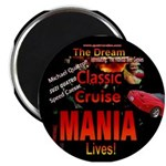 "Classic Car Cruise 2.25"" Magnet (10 pack)"