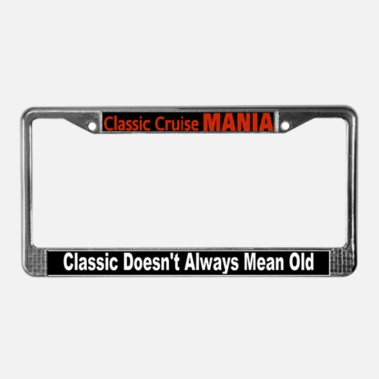 Woodward Dream Cruise License Plate Frame