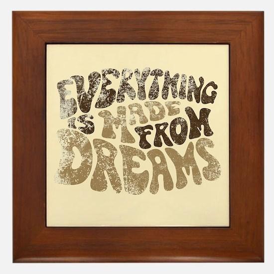 Dreams Framed Tile