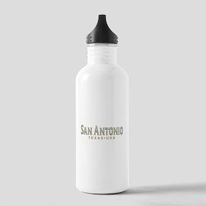 Retro San Antonio Stainless Water Bottle 1.0L