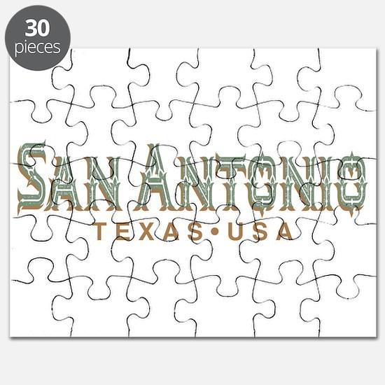 Retro San Antonio Puzzle