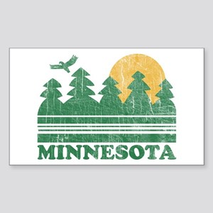 Minnesota Rectangle Sticker