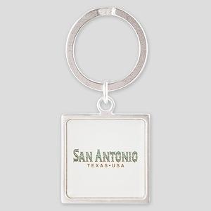 Retro San Antonio Keychains