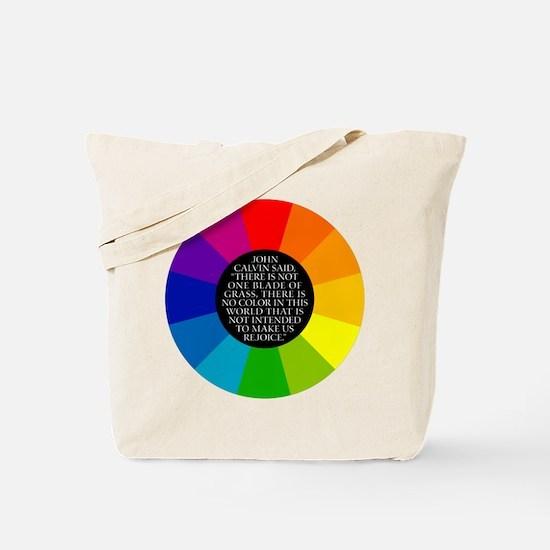 John Calvin-Color Tote Bag