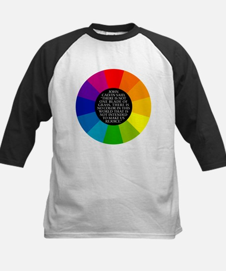 John Calvin-Color Kids Baseball Jersey