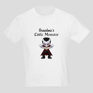 Grandma's Little Monster Vamp Kids Light T-Shirt