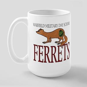 WMD Fighting Ferret  Large Mug