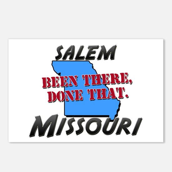 salem missouri - been there, done that Postcards (