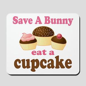 Funny Easter Cupcake Mousepad