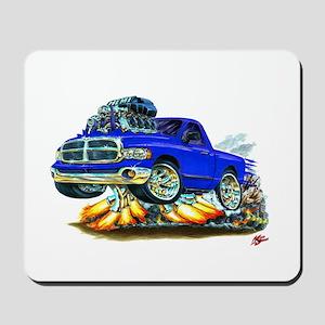 Dodge Ram Blue Truck Mousepad