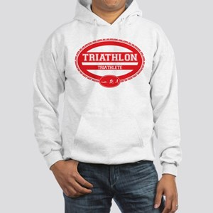Triathlon Oval - Women's Triathlete Hooded Sweatsh