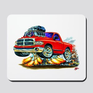 Dodge Ram Red Truck Mousepad