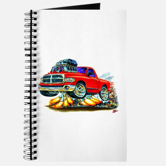 Dodge Ram Red Truck Journal