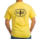 Malibu Surf Spots Yellow T-Shirt