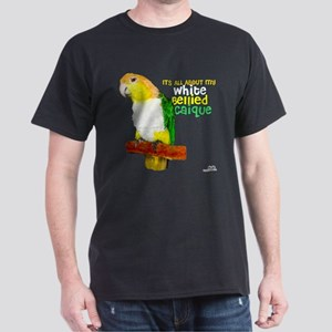 White-Bellied Caique Dark T-Shirt