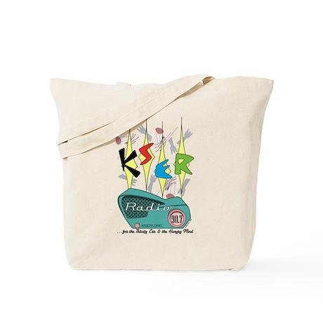 KSER 20th Anniversary Tote Bag