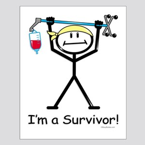 Cancer Survivor Small Poster