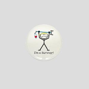 Cancer Survivor Mini Button