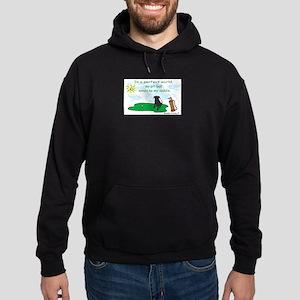 pit bull Hoodie (dark)