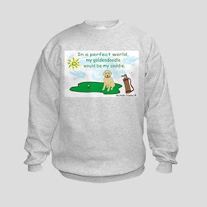 goldendoodle Kids Sweatshirt