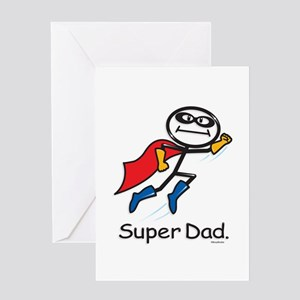 Super Dad Greeting Card