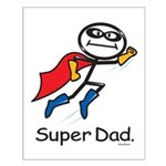 Super Dad Small Poster