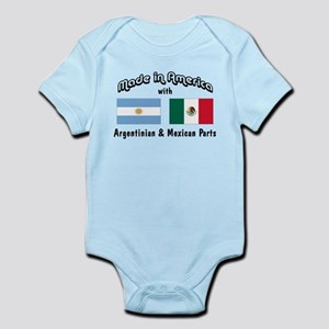 Not A Mexican Argentina Baby Clothes Accessories Cafepress